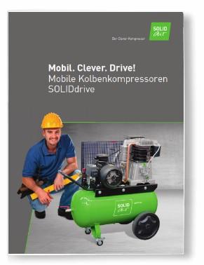 solidair drive 650 fahrbarer kompressor. Black Bedroom Furniture Sets. Home Design Ideas
