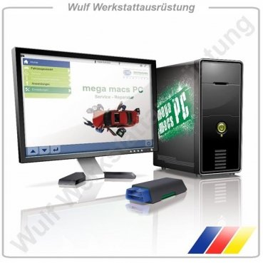 Hella Gutmann Tester / Kfz Diagnose Software mega macs PC Vollversion