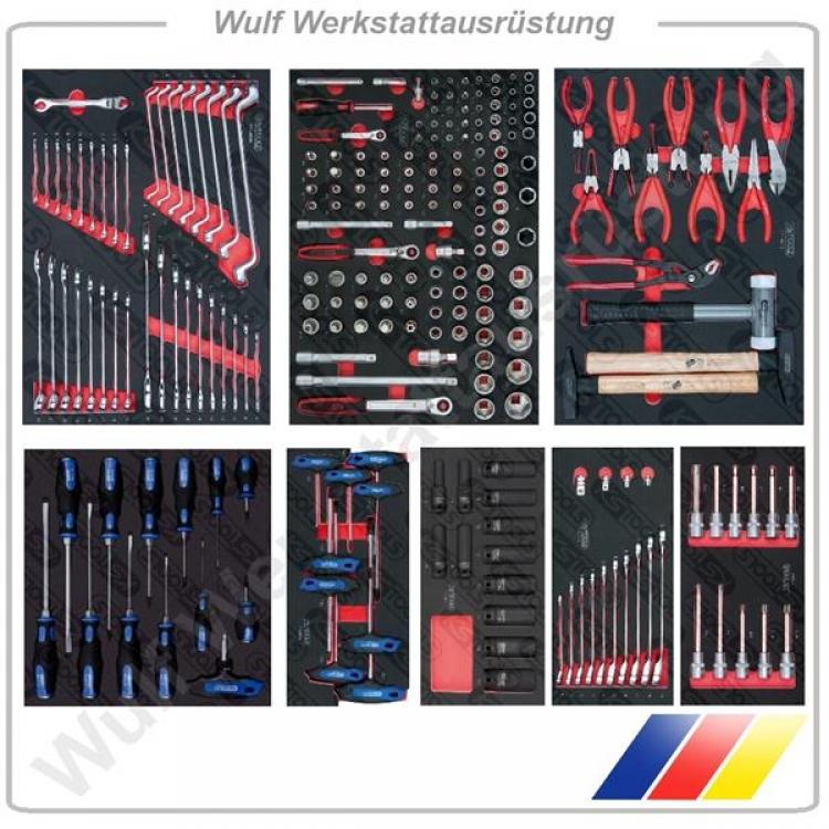 ks tools werkstattwagen werkzeug systemeinlagen paket 3. Black Bedroom Furniture Sets. Home Design Ideas